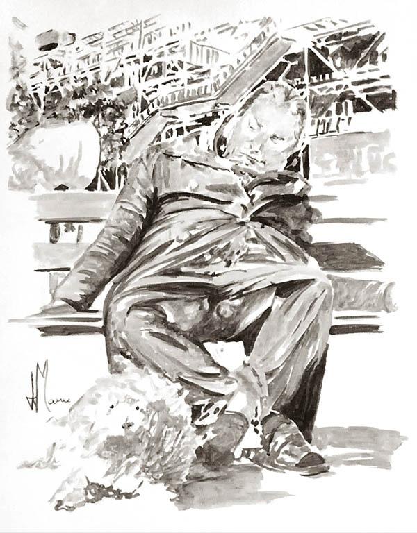 Autoportrait philosophique jean jacques marie artiste peintre contemporain fran ais - Auto entrepreneur artiste peintre ...