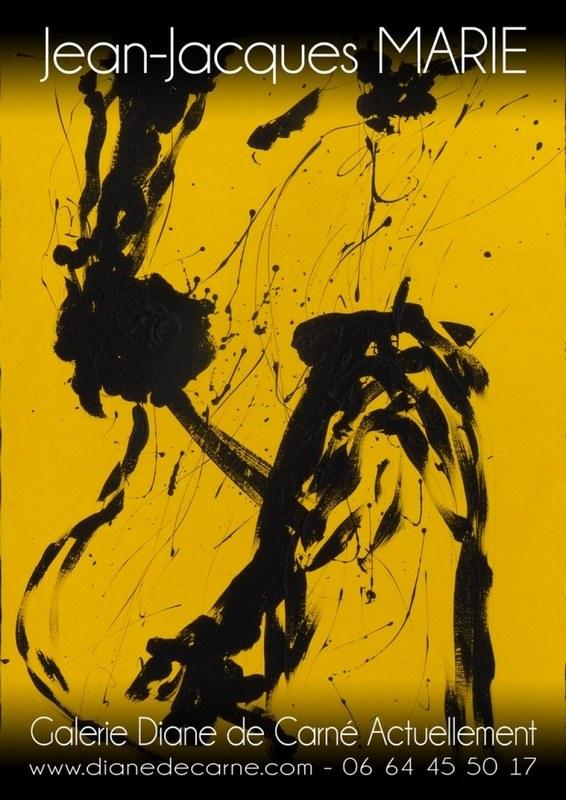 Exposition des œuvres abstraites de Jean-jacques Marie