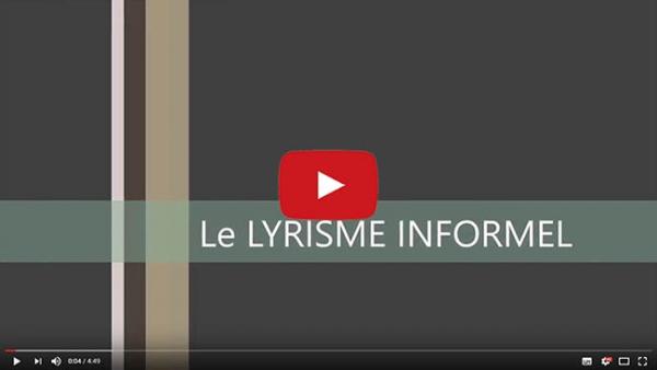Le Lyrisme informel de Jean-Jacques Marie