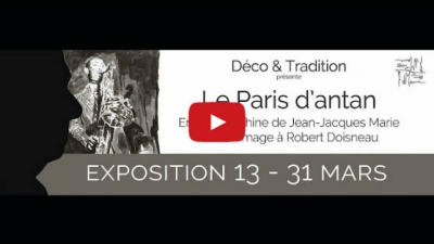 "Visite virtuelle de l'exposition ""Le Paris d'antan"""